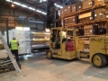 Installation of packaging line