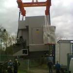12 ton CNC grinder installation