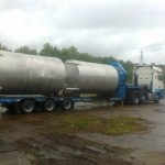 Removal of stainless steel vessels