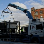 Emergency chiller unit to France