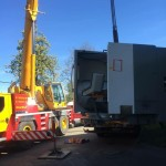 Factory removal from Liege, Belgium to Greater Manchester.