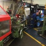Relocation of a machine shop from Lancashire to Cheshire.
