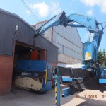 Installation of 10 ton Press brake.