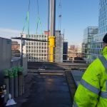 Exchanging of Condenser Coils in City Centre Manchester.